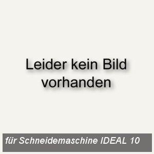 Rückanschlag mit Feststellschraube für Schneidemaschine IDEAL 10