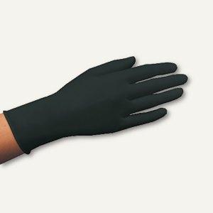 Papstar Handschuhe, Latex puderfrei, Größe S, schwarz, 1.000 Stück, 10014