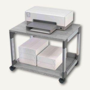 Durable Bürowagen SYSTEM Multi Trolley 48, 2 Böden, grau, 371010