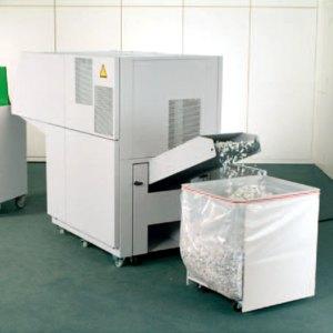 Aktenvernichter IDEAL 5009-3 CC, Partikelschnitt 6 x 50 mm, perlgrau, 50099331