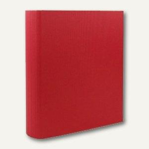 Rössler S.O.H.O. Ringbuch breit, DIN A4, 4 Ringe, 50mm, rot, 3er Pack,1316452365