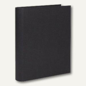 S.O.H.O. Ringbuch schmal, DIN A4, 2 Ringe, 25mm, schwarz, 3er Pack, 1316452700