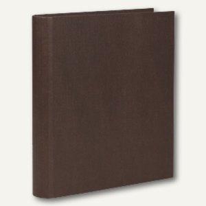 S.O.H.O. Ringbuch schmal, DIN A4, 2 Ringe, 25mm, espresso, 3er Pack, 1316452870