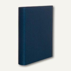 S.O.H.O. Ringbuch schmal, DIN A4, 2 Ringe, 25mm, navy, 3er Pack, 1316452900