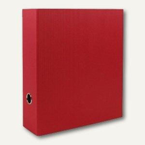 Rössler S.O.H.O. Ordner breit, 85 mm Rückenbreite, rot, 4er Pack, 1317452360