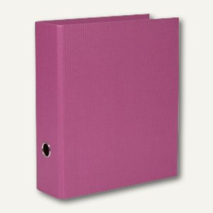 Rössler S.O.H.O. Ordner breit, 85 mm Rückenbreite, cassis, 4er Pack, 1317452400