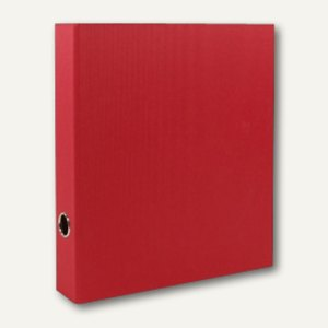 Rössler S.O.H.O. Ordner schmal, 50 mm Rückenbreite, rot, 4er Pack, 1317452361