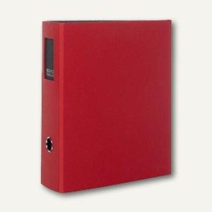 Rössler S.O.H.O. Büro-Ordner, 85 mm, Rückenschild, rot, 4er Pack, 1317452369