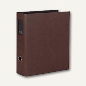 Rössler S.O.H.O. Büro-Ordner, 85 mm, Rückenschild, espresso, 4er Pack,1317452879