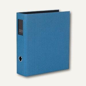 Rössler S.O.H.O. Büro-Ordner, 85 mm, Rückenschild, blau, 4er Pack, 1317452969