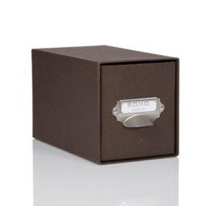Rössler S.O.H.O. CD-Schubladenbox für 47 CDs, espresso, 2er Pack, 1327452870