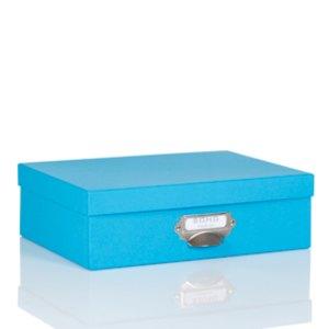 Rössler S.O.H.O. Aufbewahrungsbox mit Griff, pacific, 2er Pack, 1343452480