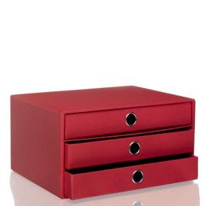 S.O.H.O. 3er Schubladenbox DIN A4