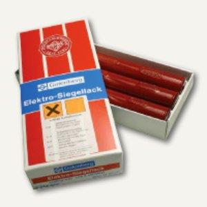 Gutenberg Siegellack für Elektrostift, rot, 3 Stangen, 900E1