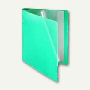 FolderSys Soft-Sichtbuch, DIN A4, incl. 10 Hüllen, hellgrün, 20 Stück, 25801-54