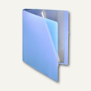 FolderSys Soft-Sichtbuch DIN A4, incl. 30 Hüllen, hellblau, 20 St., 25803-44