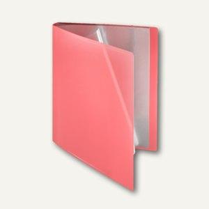 FolderSys Soft-Sichtbuch DIN A4, incl. 40 Hüllen, hellrot, 20 St., 25804-84
