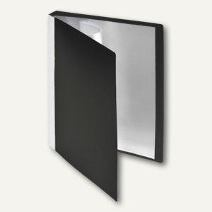 FolderSys Sichtbuch, DIN A5, incl. 20 Hüllen, schwarz, 20 Stück, 25925-30