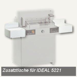 Zusatztische für Stapelschneider IDEAL 5221
