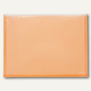FolderSys Gleitverschluss-Tasche, DIN A3, PP, orange, 20 Stück, 40426-69