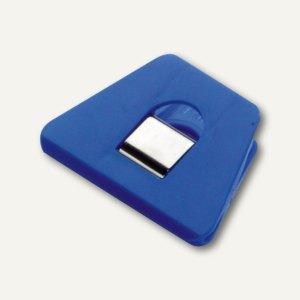 Briefklemmer SIGNAL 2, 70 x 50 mm, 13 mm Klemmweite, blau, 10er Pack, 1121-30