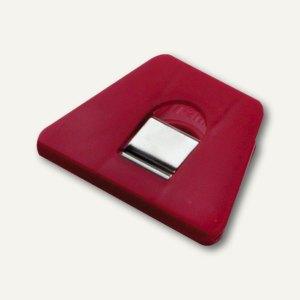 Briefklemmer SIGNAL 2, 70 x 50 mm, 13 mm Klemmweite, rot, 10er Pack, 1121-20