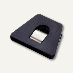 Briefklemmer SIGNAL 2, 70 x 50 mm, 13 mm Klemmweite, schwarz, 10er Pack, 1121-11
