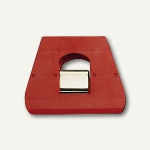 Briefklemmer SIGNAL 3, 90 x 70 mm, 23 mm Klemmweite, rot, 100er Pack, 1130-20