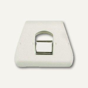 Briefklemmer SIGNAL 3, 90 x 70 mm, 23 mm Klemmweite, weiß, 100er Pack, 1130-10