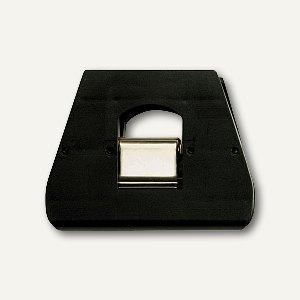 Briefklemmer SIGNAL 3, 90 x 70 mm, 23 mm Klemmweite, schwarz, 100er Pack, 1130-1