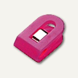 Laurel Briefklemmer LILIPUT, 15x25mm, Klemmweite: 7mm, pink, 100St, 1100-40