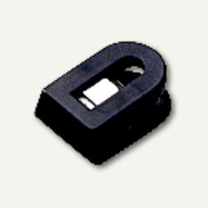 Laurel Briefklemmer LILIPUT, 15x25mm, Klemmweite: 7mm, schwarz, 100St, 1100-11
