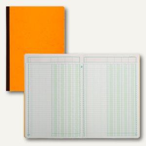 Exacompta Mehrkolonnenheft DIN A4, 4 Spalten auf einer Seite, 40 Blatt, 17040E
