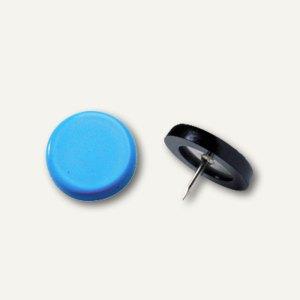 Laurel Reißnagel, Ø 14 mm, Stifthöhe 6 mm, hellblau, 100 Stück, 2770-80