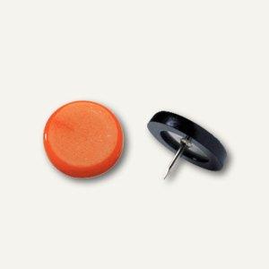 Laurel Reißnagel, Ø 14 mm, Stifthöhe 6 mm, orange, 100 Stück, 2770-50