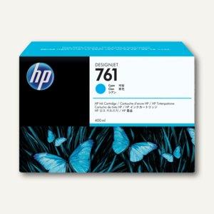 HP Tintenpatrone Nr. 761, 400 ml, cyan, CM994A