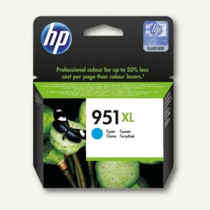 HP Tintenpatrone Nr.951XL, cyan, CN046AE