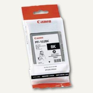 Canon Tintenpatrone, schwarz, PFI-102BK, 0895B001