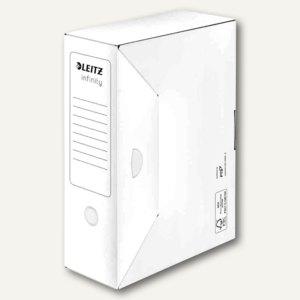 Archiv-Schachtel Infinity, säurefrei, DINA4+, (B)100mm, weiß, 20St., 6089-00-00