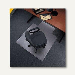 Bodenschutzmatte für Teppichböden, 120 x 90 cm, Lippe, transp., Polycarbonat