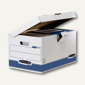 Bankers Box SYSTEM Klappdeckelbox MAXI