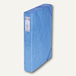 officio Dokumentenbox, Füllhöhe 50 mm, 250 x 345 mm, blau, 100854