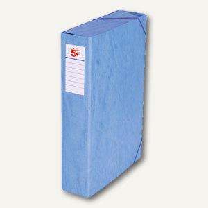 officio Dokumentenbox, Füllhöhe 70 mm, 250 x 345 mm, blau, 101345