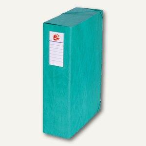 officio Dokumentenbox, Füllhöhe 90 mm, 250 x 345 mm, grün, 101728