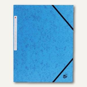 officio Eckspannmappe, DIN A4, Karton, Füllhöhe: 15 mm, dunkelblau, 922994