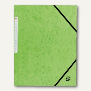 officio Eckspannmappe, DIN A4, Karton, Füllhöhe: 15 mm, grün, 923205