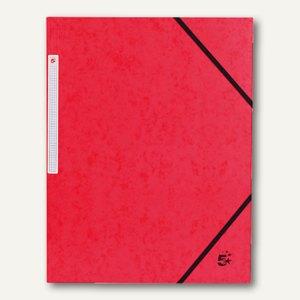 officio Eckspannmappe, 450 g, B 240 x H 320 mm, Füllhöhe 15 mm, rot, 922951