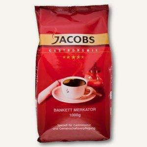 Jacobs Kaffee Bankett, ganze Bohne, 1000 g/Pack, 859812