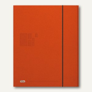 Elba for Business - Eckspannermappe, DIN A4, 420g, 24 x 32 cm, orange, 400013685