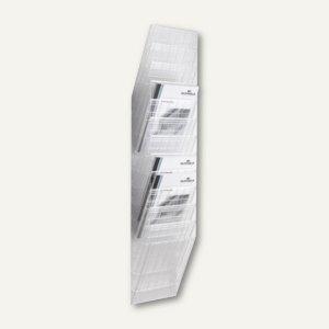 """Wand-Prospekthalter-Set """"FLEXIBOXX 12"""", DIN A4 hoch, transparent, 1709763400"""